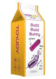 BUZZ BUZZ Bunny & Butterfly MASSAGER PURPLE - TOYZ4LOVERS -