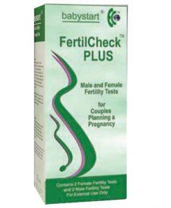 Babystart fertilcheck plus pentru testarea fertilitatii la barbati si la femei - SanatateSexuala -