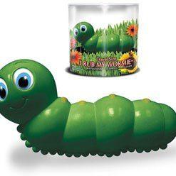 Bade-Wurm ''I RUB MY WORMIE'' green mini - VIBRATOARE CLITORIS -