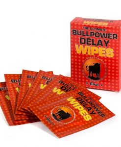 Bull Power Delay Wipes pentru intazierea ejacularii - Ejaculare Precoce -