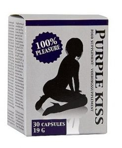 Capsule Purple Kiss pentru femeile care isi doresc mai mult - Stimulente Sexuale Afrodisiatice -