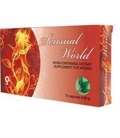 Capsule Sensual World for Women pentru cresterea libidoului la femei - Libidou Crescut la Femei -