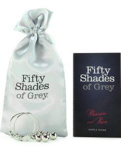Cercei pentru sfarcuri 50 de Umbre ale lui Grey Placere si Durere - Stimulare Sfarcuri -