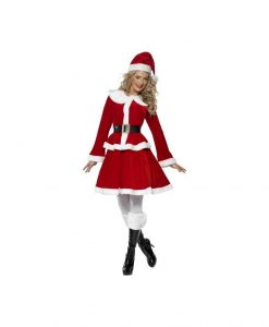 Costumatie Miss Santa S - Costume Craciunite Sexy -