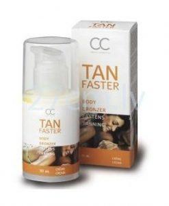 Crema Tan Faster pentru a grabi procesul de bronzare