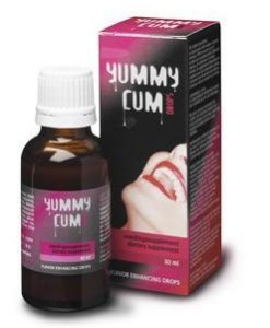 Ejaculati mai mult si cu un gust placut cu More Sperm with Yummi Cum - Calitatea spermei -