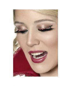 Gene false Bijou Boutique - diamante rosii - Accesorii Sexy -
