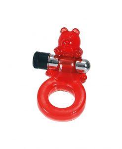 Inel Jelly Bear cu vibratii - Inele Stimulatoare -