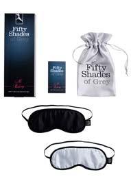 No Peeking – Soft Blindfold Twin Pack – Sex Shop –