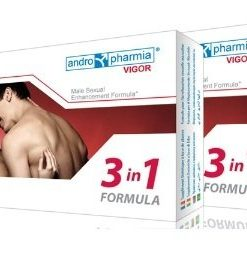 Pastile pentru potenta Vigor Male Sexual Enhancement Formula 3 in 1