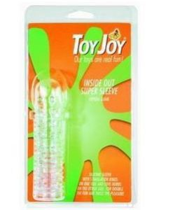 Prelungitor Toy Joy Crystal Sleeve - Inele-Mansoane-Prelungitoare -