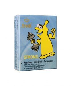Prezervative Amor Strong 3buc - Prezervative -