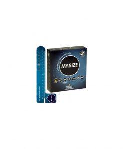 Prezervative My Size 47 3buc - Prezervative -