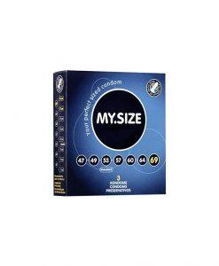 Prezervative My Size 69 3buc - Prezervative -