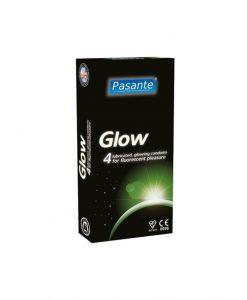 Prezervative Pasante Glow 4buc - Prezervative -