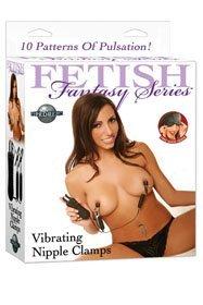 Vibrating Nipple Clamps – Sex Shop –