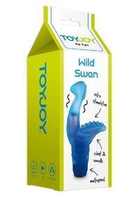 WILD SWAN VIBR.MASSAGER BLUE - Vibratoare de Lux -
