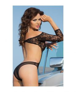 Body Roxana S/M negru - Body -