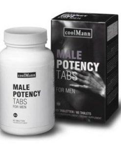 Capsule Coolman Male Potency Tabs For Men - Erectii Puternice -