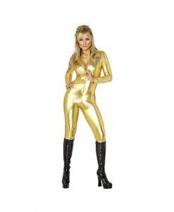 Catsuit Gold L - Catsuit -