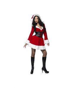 Costumatie Sexy Miss Fever Santa S - Costume Craciunite Sexy -