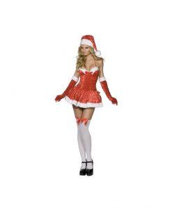 Costumatie sexy Naughty Miss Santa M - Costume Craciunite Sexy -