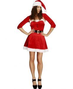 Costumatie sexy Santa Babe S - Costume Craciunite Sexy -