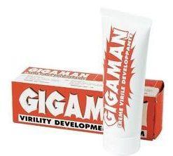 Crema Gigaman pentru eficientizarea exercitiilor de marire a penisului