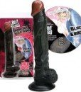 Dildo Bad Seed Kong Sized Black Dong + DVD - Producatori -