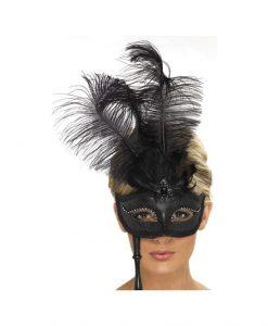 Masca Baroque neagra - Masti Sexy -
