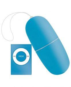 Ou vibrator Lovely Egg Motion albastru - Oua Vibratoare -