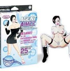 Papusa Agent Aimee Mini Doll - PapusiGonflabile -