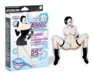Papusa Agent Aimee Mini Doll – PapusiGonflabile –