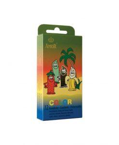 Prezervative Amor Color 12buc - Prezervative -
