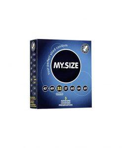 Prezervative My Size 53 3buc - Prezervative -